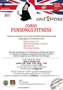 FunSongs Fitness Poster for course Costarena May 2017